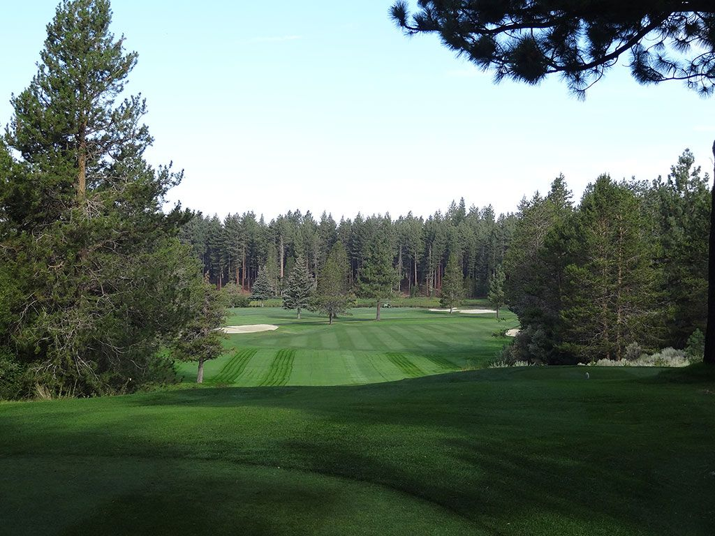 13th Hole at Edgewood Tahoe (434 Yard Par 4)