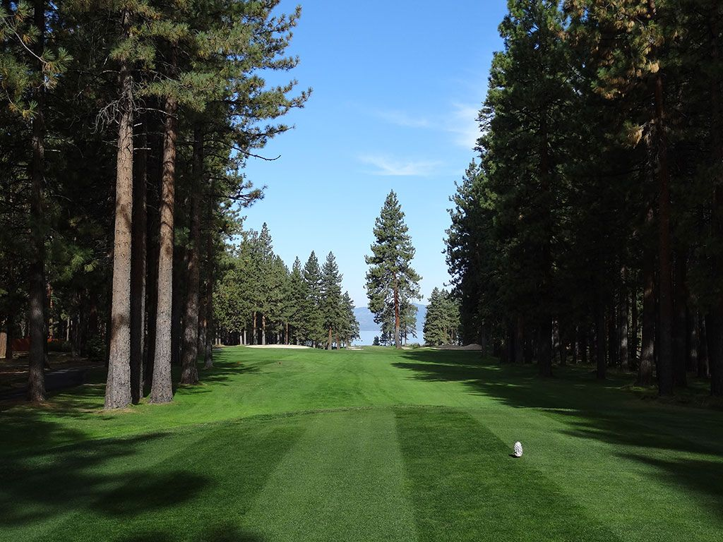 16th Hole at Edgewood Tahoe (564 Yard Par 5)