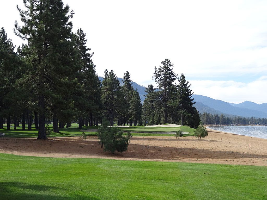 17th Hole at Edgewood Tahoe (207 Yard Par 3)