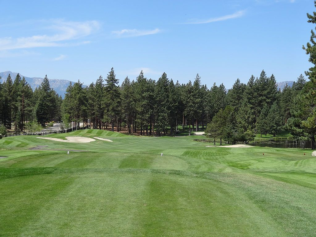 6th Hole at Edgewood Tahoe (472 Yard Par 4)