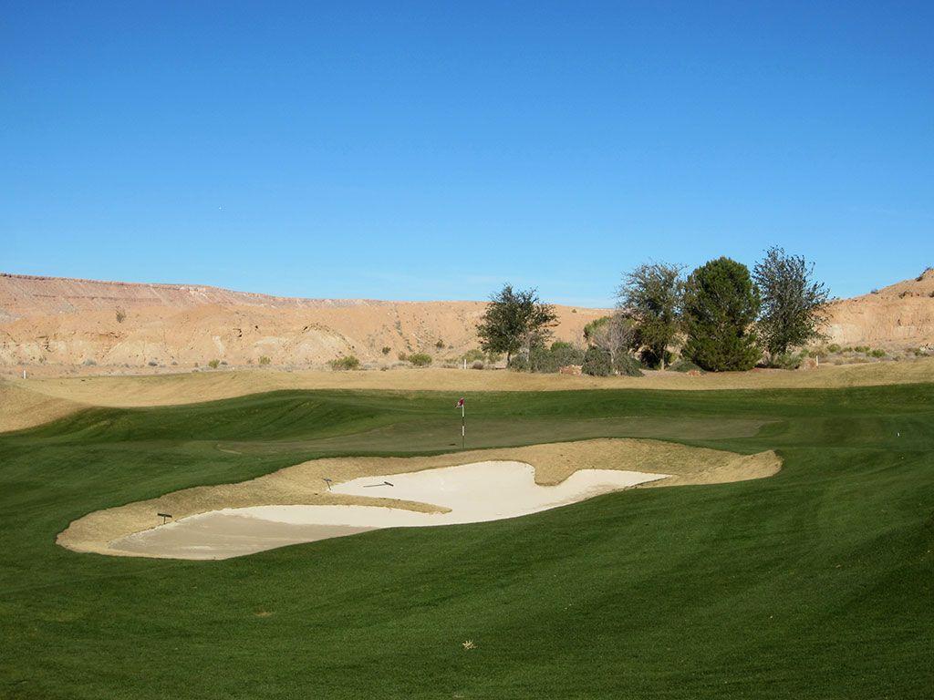 3rd Hole at Falcon Ridge Golf Club (310 Yard Par 4)