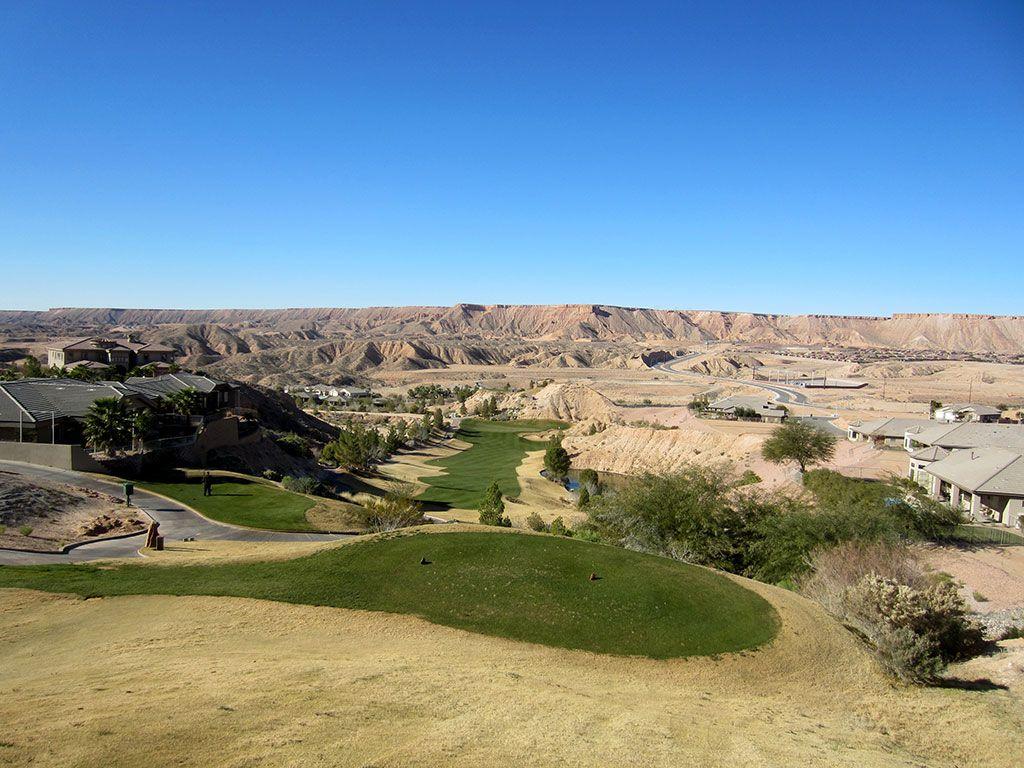 6th Hole at Falcon Ridge Golf Club (410 Yard Par 4)