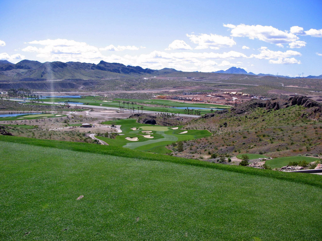 14th Hole at Falls at Lake Las Vegas (336 Yard Par 4)