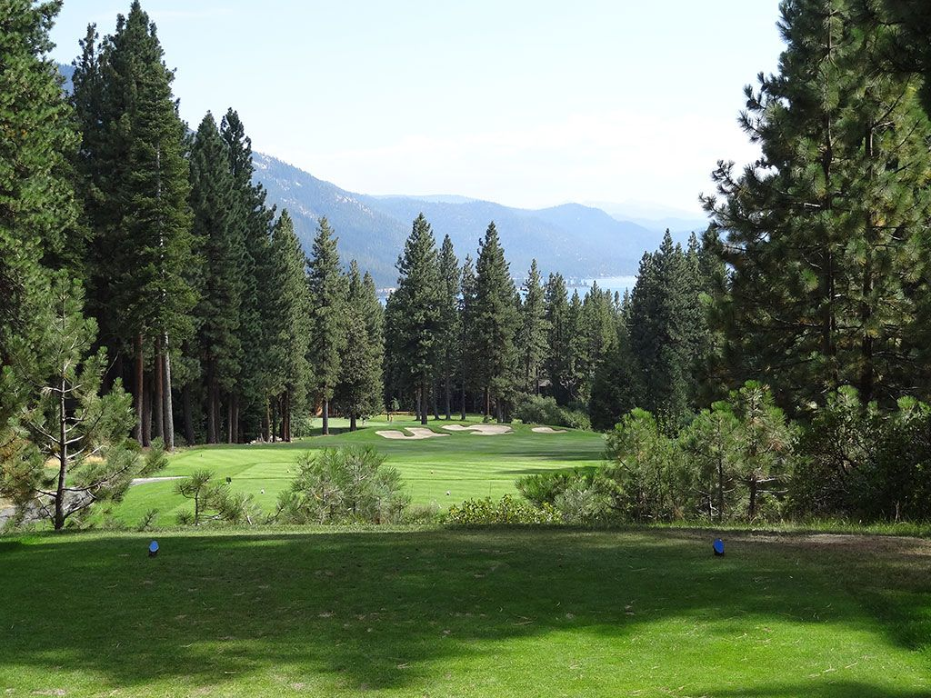 7th Hole at Incline Village (Championship) (407 Yard Par 4)