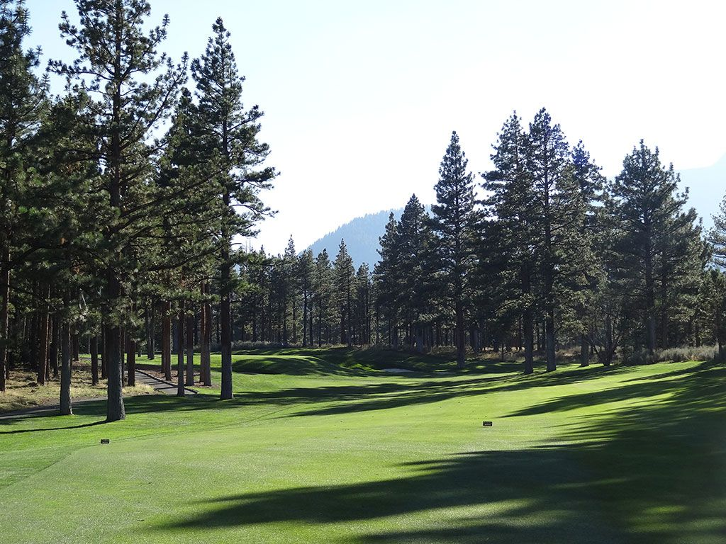 13th Hole at Montreux Country Club (518 Yard Par 5)
