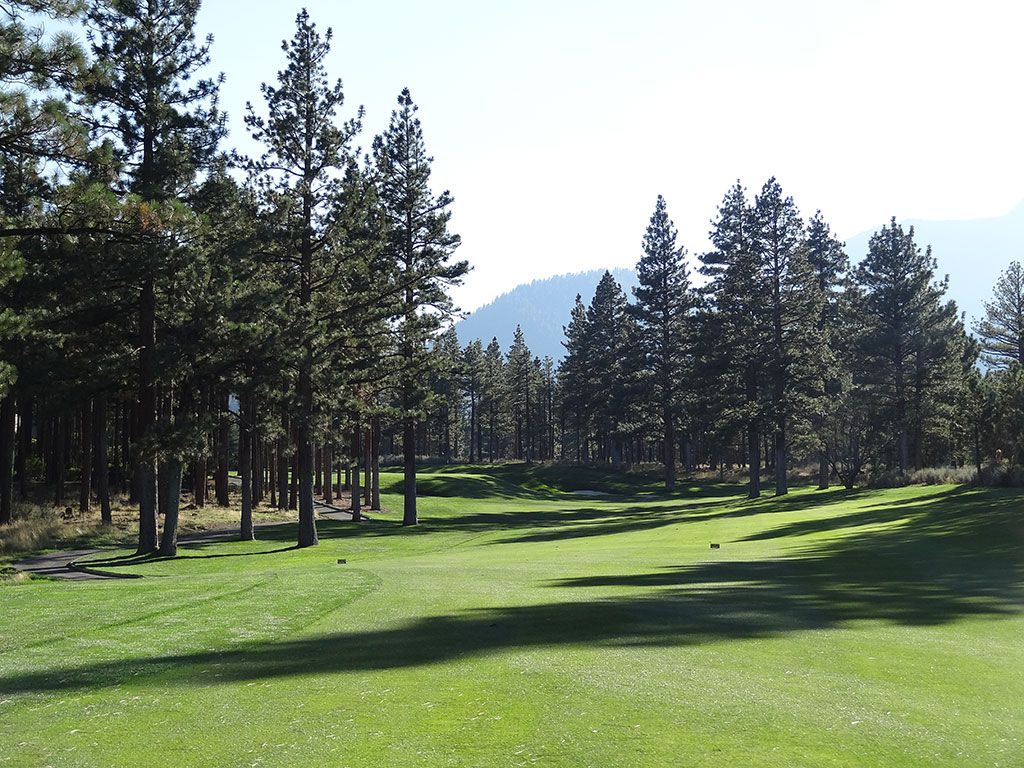 13th Hole at Montreux Golf and Country Club (518 Yard Par 5)