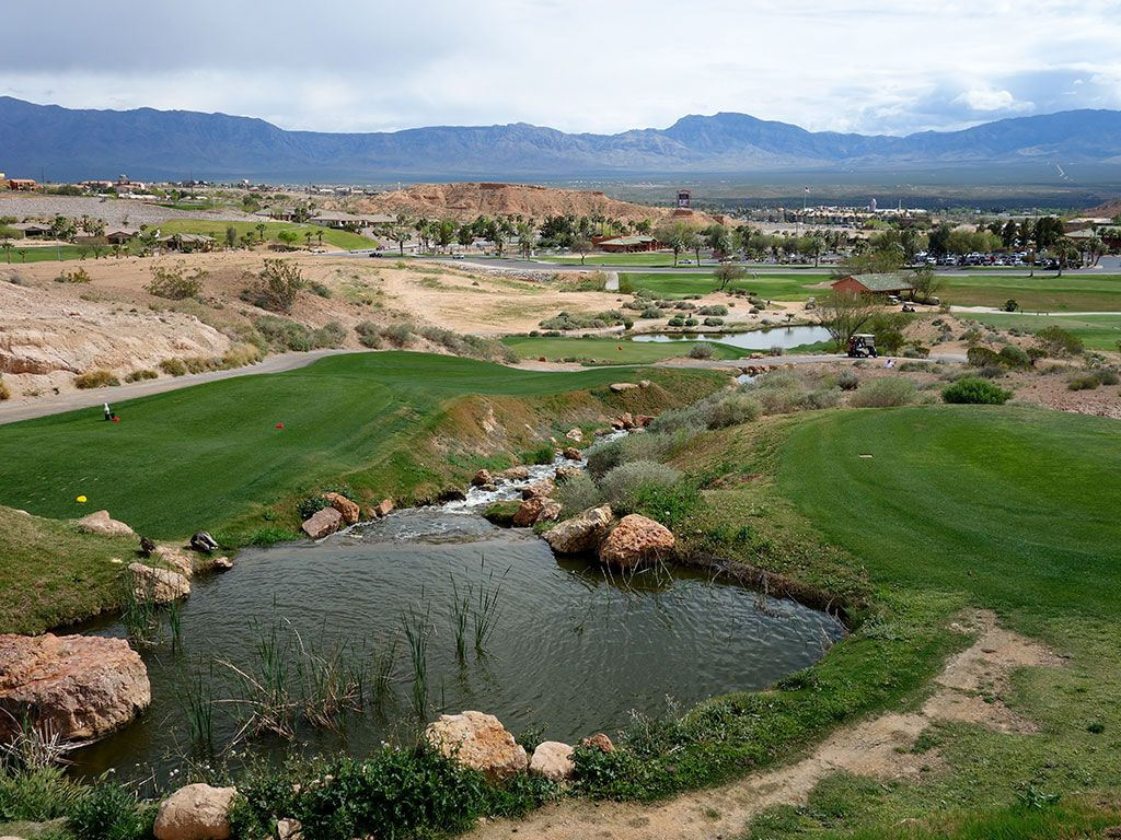 9th Hole at Oasis (Canyons) (175 Yard Par 3)