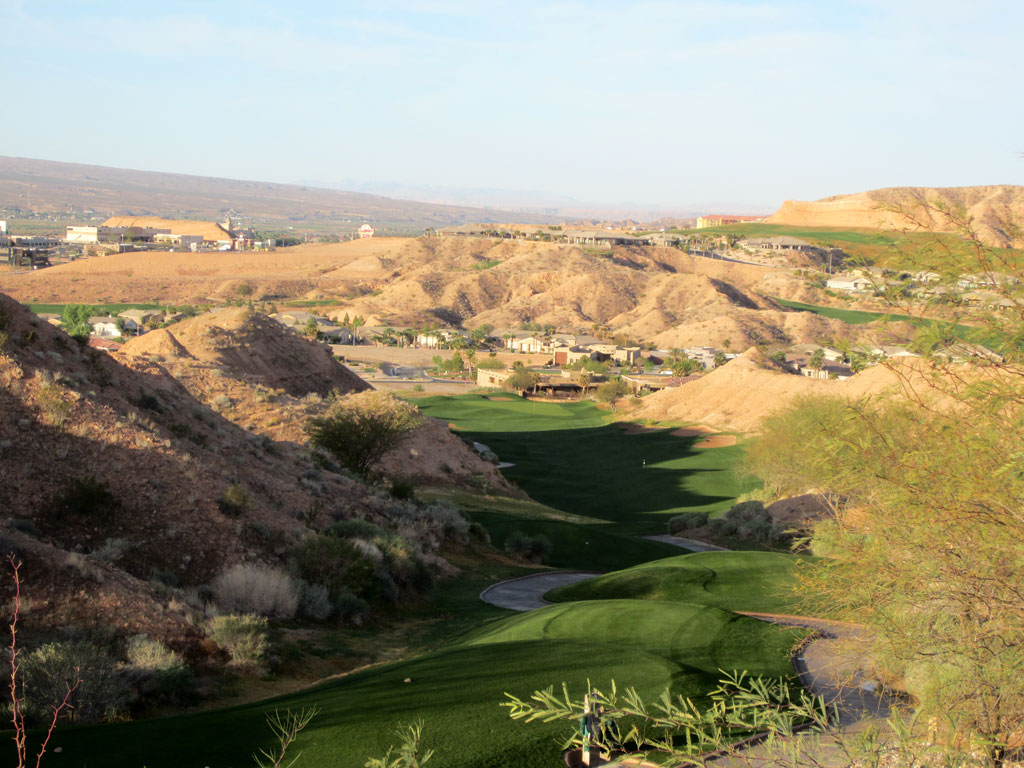 5th Hole at Oasis (Palmer) (534 Yard Par 5)