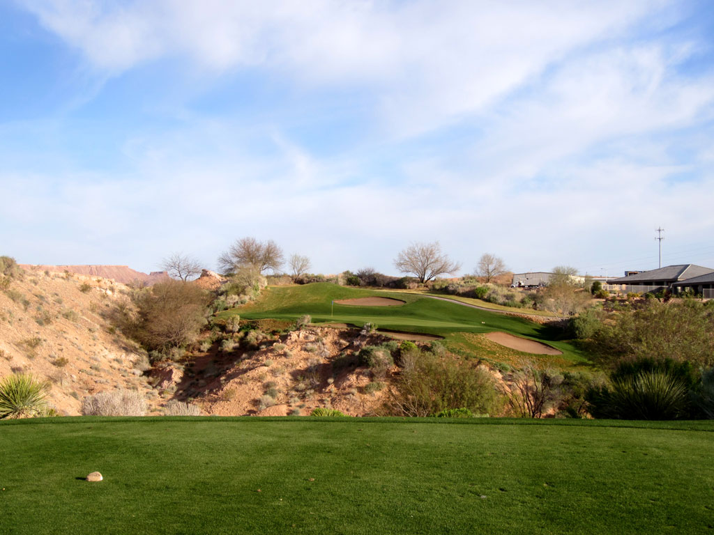 7th Hole at Oasis (Palmer) (157 Yard Par 3)