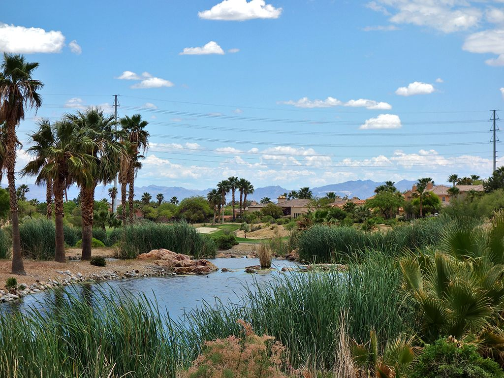 10th Hole at Arroyo Golf Club at Red Rock (414 Yard Par 4)