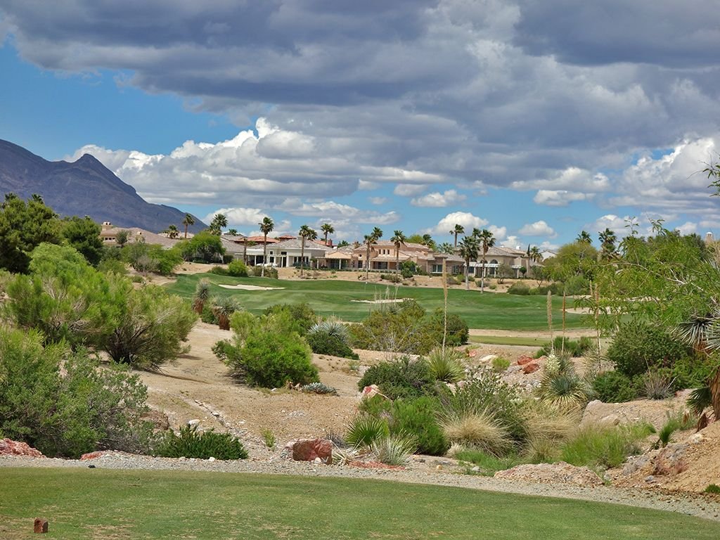 13th Hole at Arroyo Golf Club at Red Rock (411 Yard Par 4)