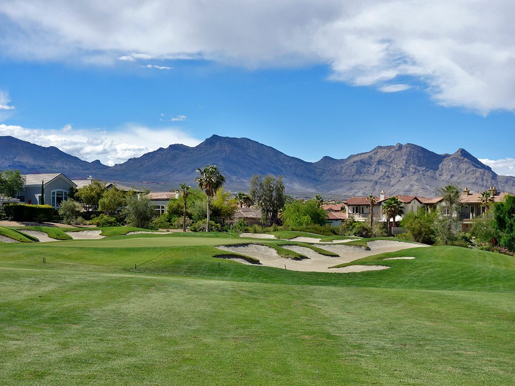 4th Hole at Arroyo Golf Club at Red Rock (432 Yard Par 4)