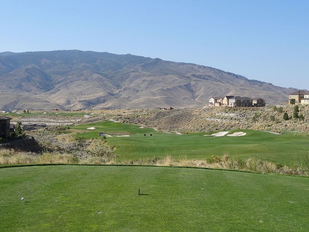 4th Hole at Somersett Golf and Country Club (505 Yard Par 5)