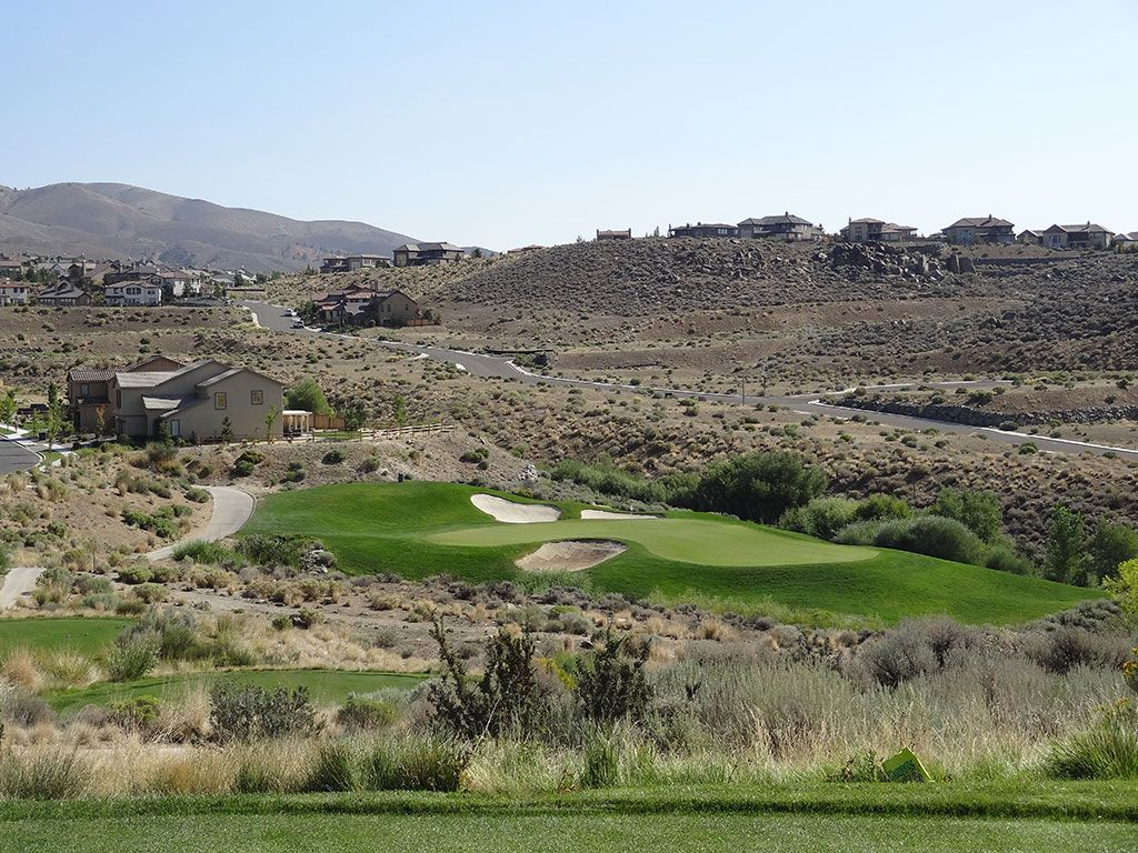 6th Hole at Somersett Golf and Country Club (221 Yard Par 3)