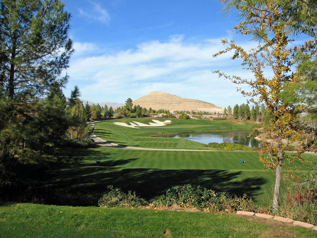 12th Hole at Southern Highlands Golf Club (177 Yard Par 3)