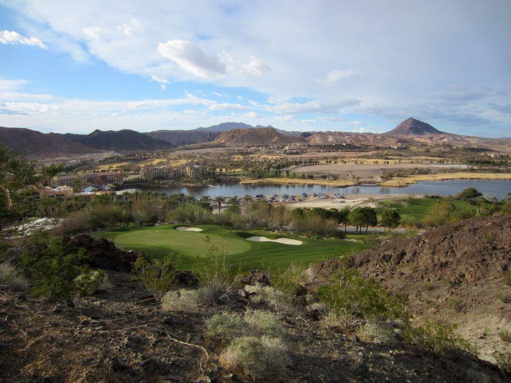 16th Hole at SouthShore Golf Club (212 Yard Par 3)