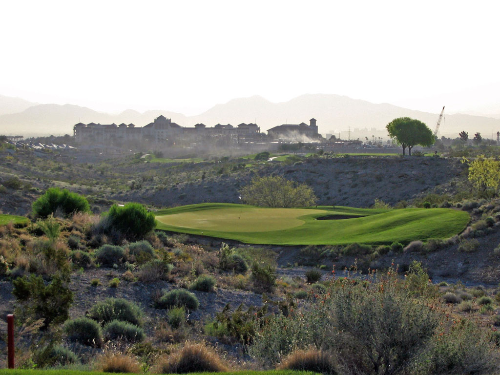 2nd Hole at TPC Las Vegas (The Canyons) (196 Yard Par 3)