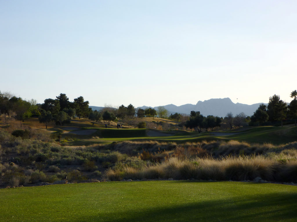 15th Hole at TPC Summerlin (341 Yard Par 4)