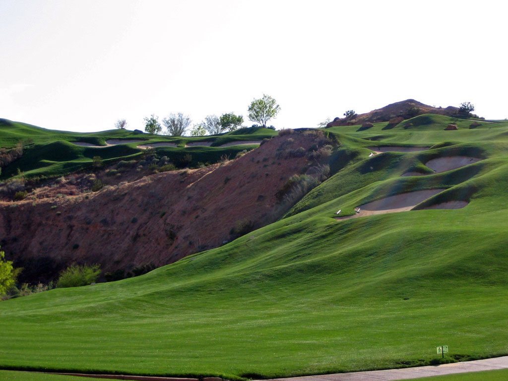 14th Hole at Wolf Creek Golf Club (444 Yard Par 4)