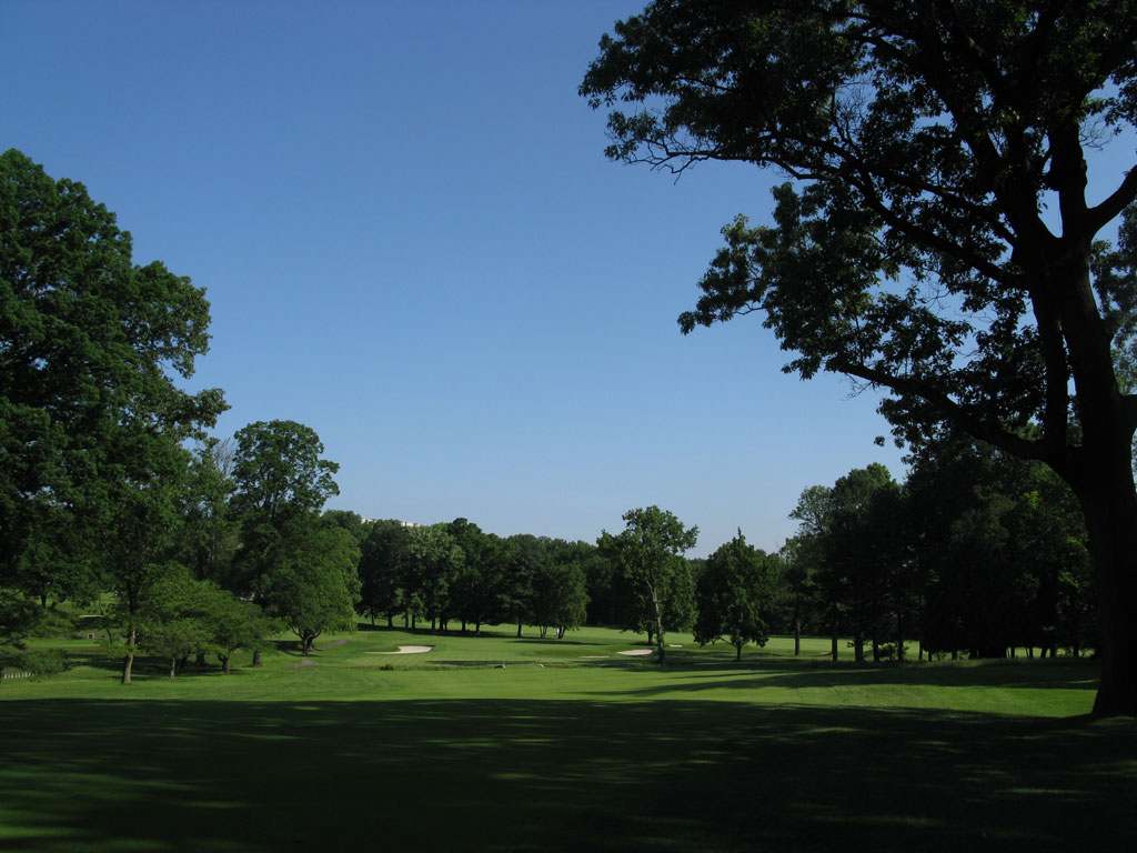 3rd Hole at Baltusrol Golf Club (Lower) (503 Yard Par 4)