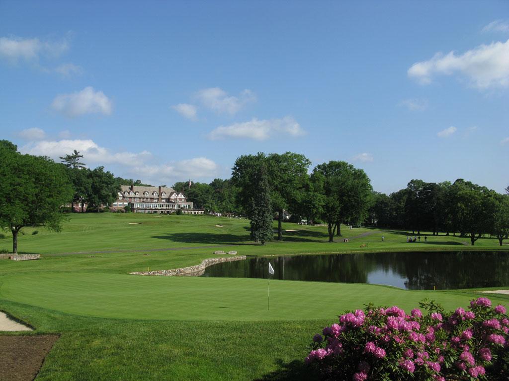 4th Hole at Baltusrol Golf Club (Lower) (199 Yard Par 3)