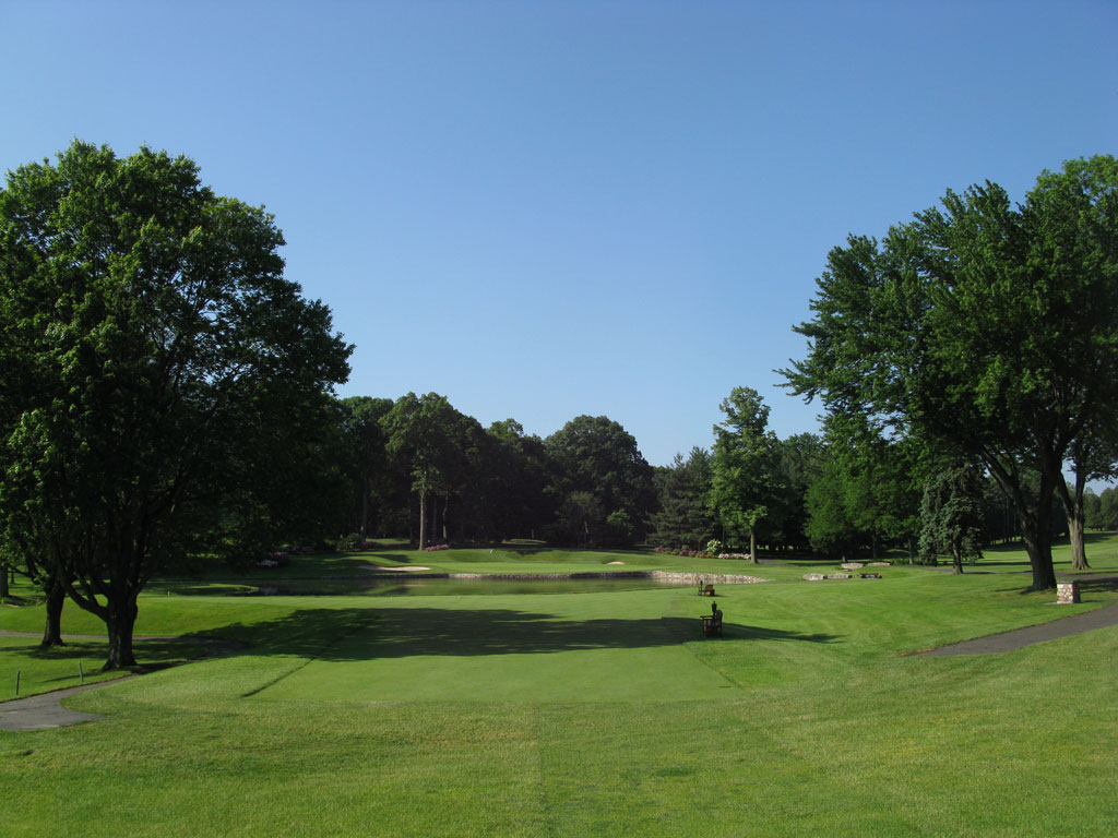 4th Hole at Baltusrol Golf Club (Lower) (199 Yard Par 3)