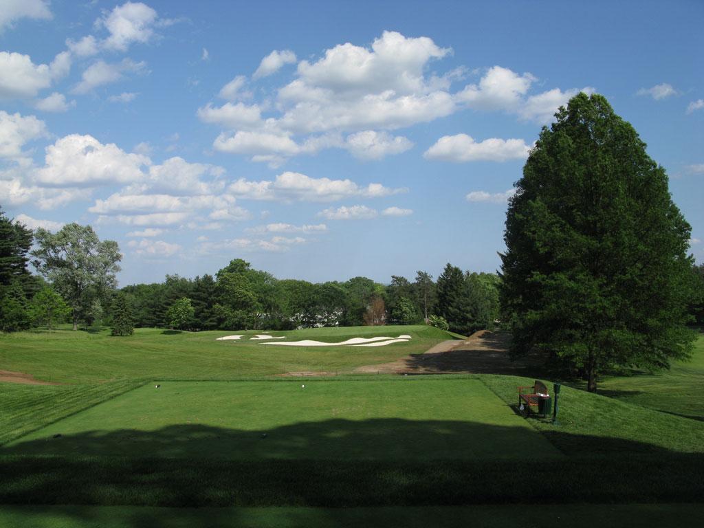 15th Hole at Baltusrol Golf Club (Upper) (139 Yard Par 3)