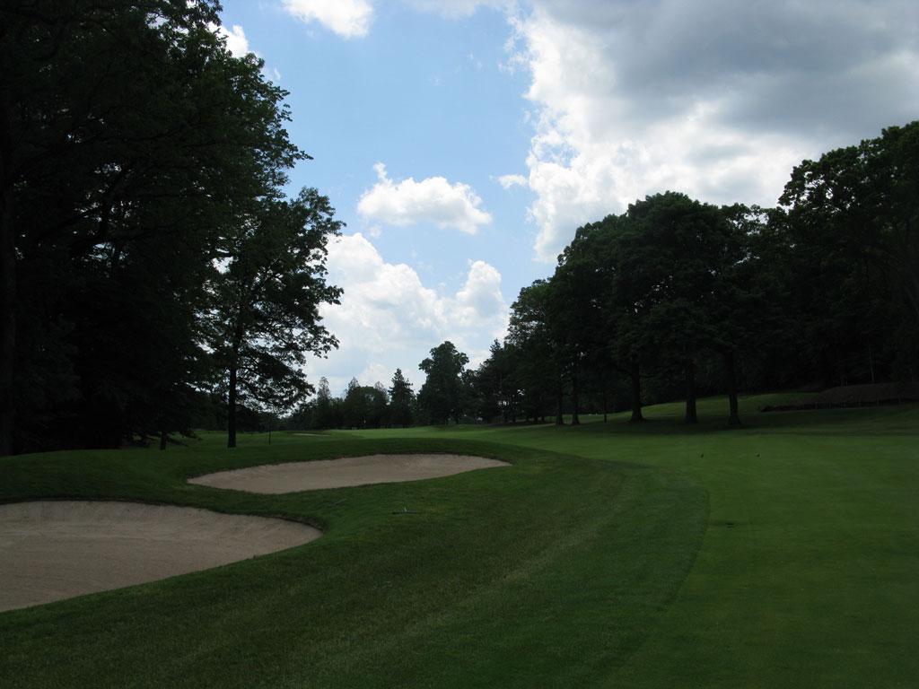 1st Hole at Baltusrol Golf Club (Upper) (473 Yard Par 5)