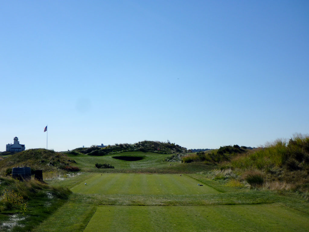 5th Hole at Bayonne Golf Club (146 Yard Par 3)