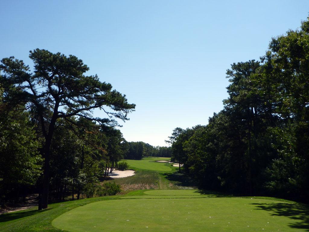 13th Hole at Galloway National Golf Club (474 Yard Par 4)