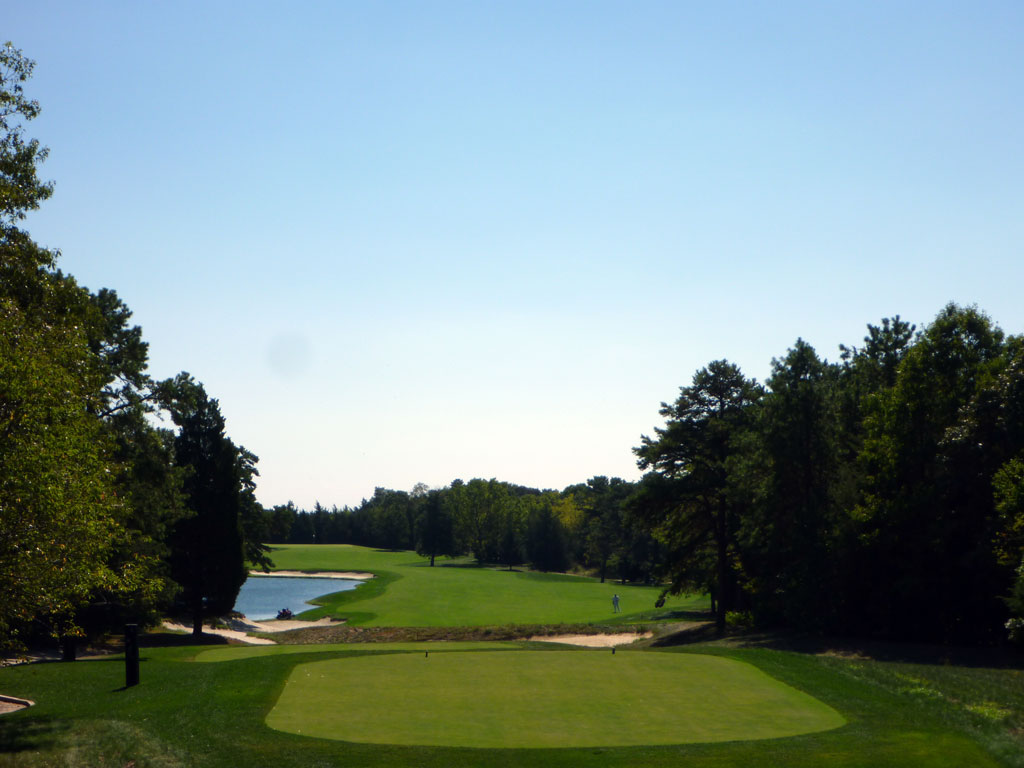 16th Hole at Galloway National Golf Club (584 Yard Par 5)