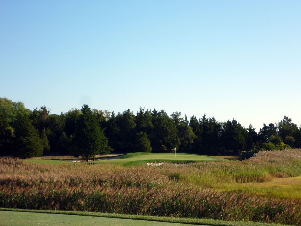 2nd Hole at Galloway National Golf Club (152 Yard Par 3)