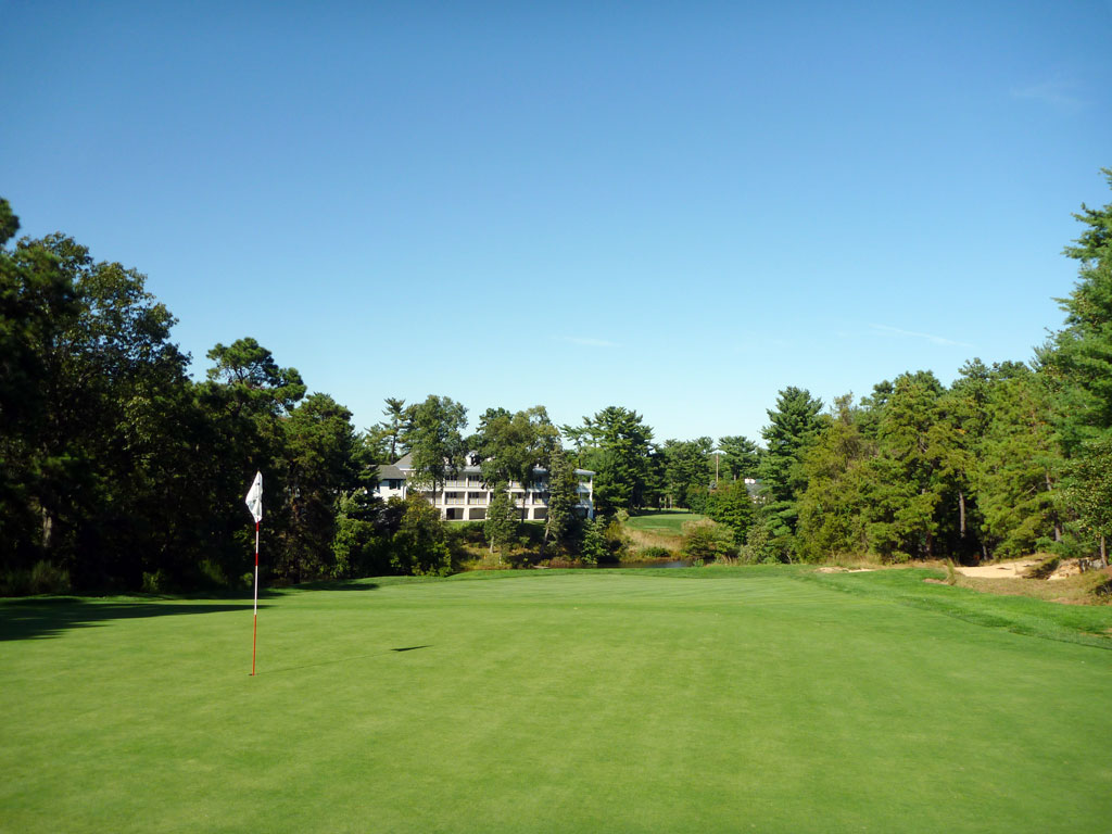 5th Hole at Pine Valley Golf Club (238 Yard Par 3)