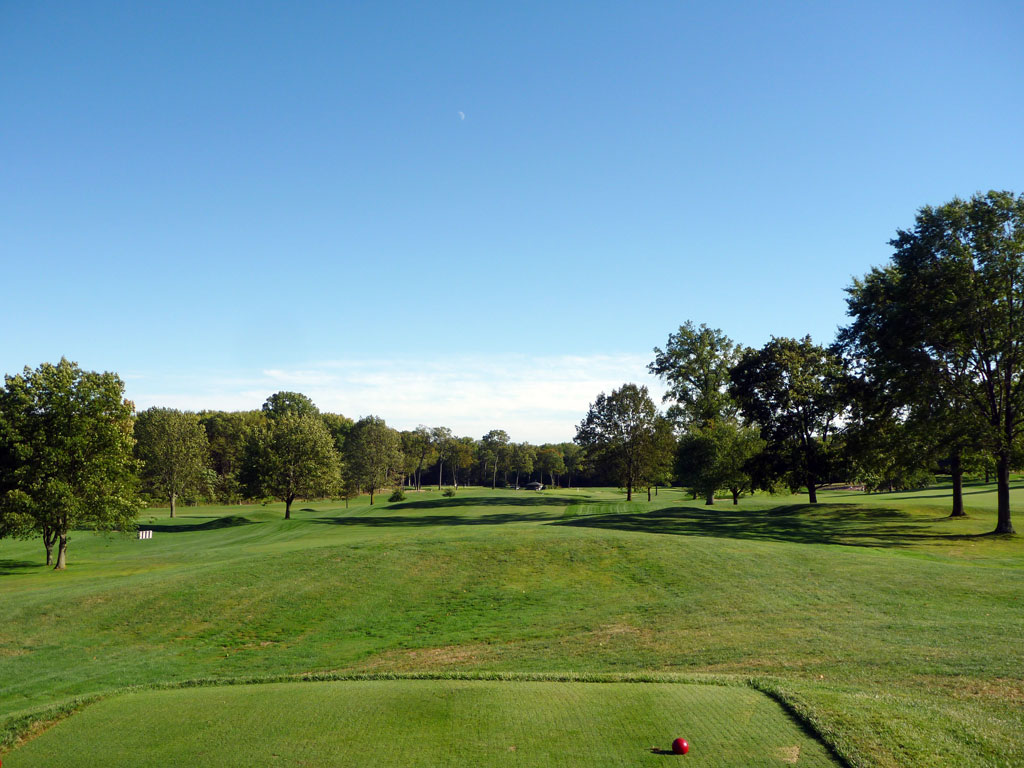 12th Hole at Plainfield Country Club (588 Yard Par 5)
