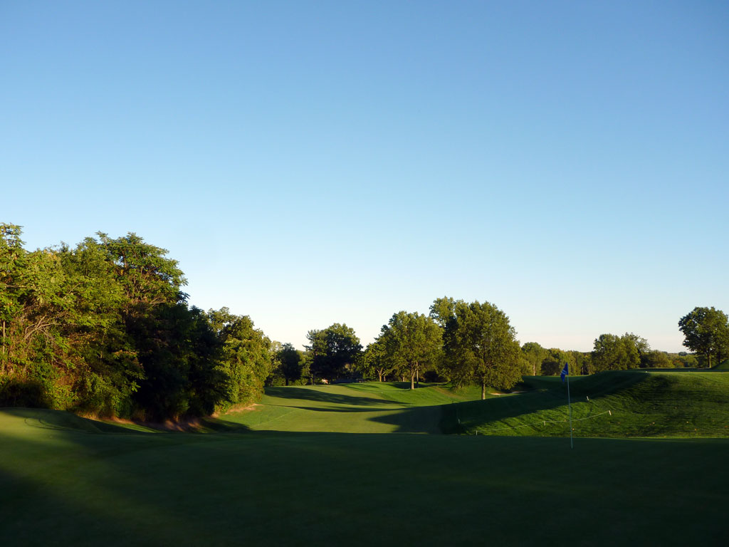 17th Hole at Plainfield Country Club (427 Yard Par 4)