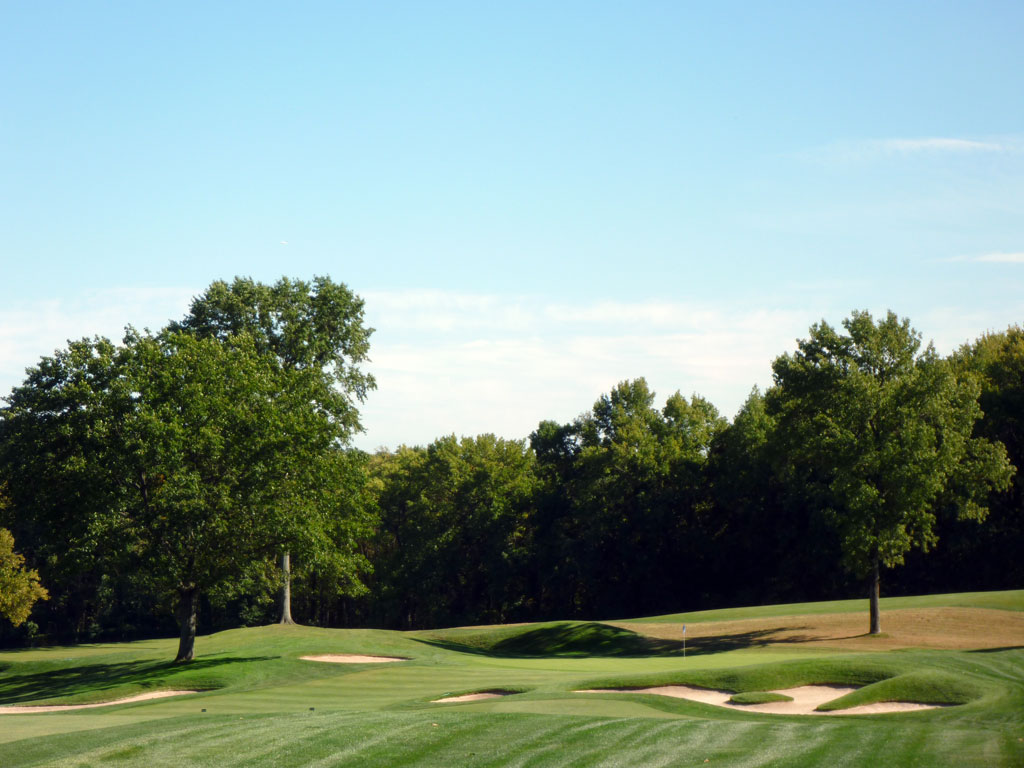 7th Hole at Plainfield Country Club (471 Yard Par 4)