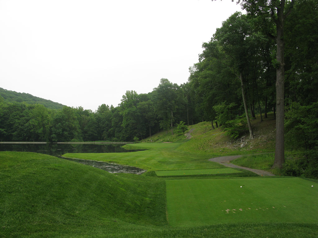 12th Hole at Somerset Hills Country Club (151 Yard Par 3)