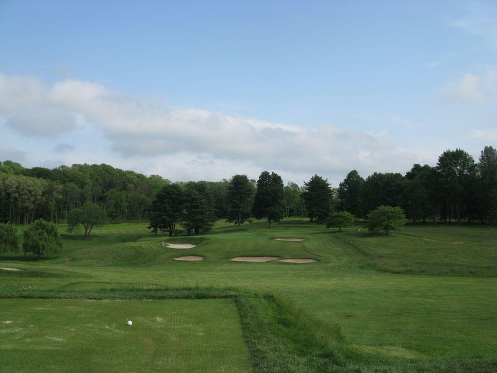 2nd Hole at Somerset Hills Country Club (175 Yard Par 3)
