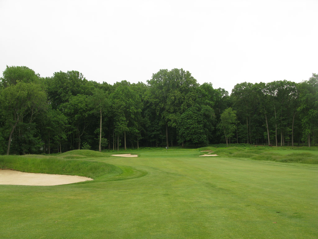 6th Hole at Somerset Hills Country Club (501 Yard Par 5)