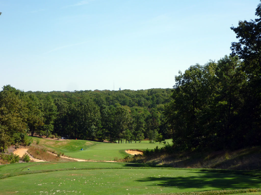 16th Hole at Trump National Philadelphia (234 Yard Par 3)