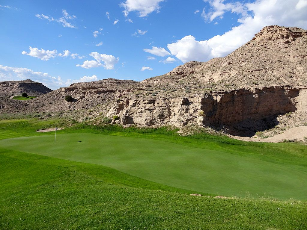 11th Hole at Black Mesa Golf Club (172 Yard Par 3)
