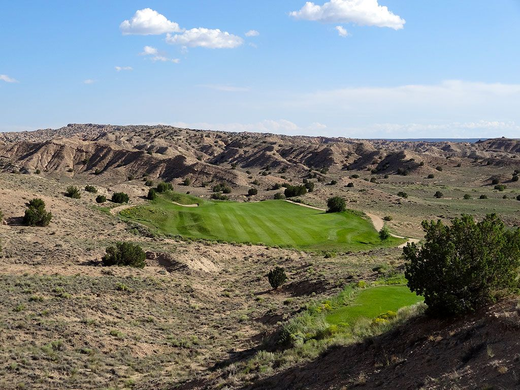 13th Hole at Black Mesa Golf Club (591 Yard Par 5)
