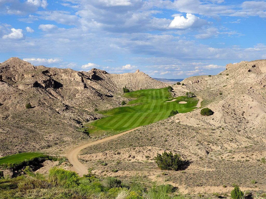 16th Hole at Black Mesa Golf Club (536 Yard Par 5)