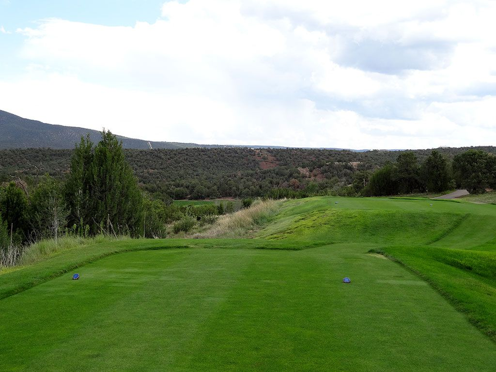 7th Hole at Paa-Ko Ridge Golf Club (496 Yard Par 4)