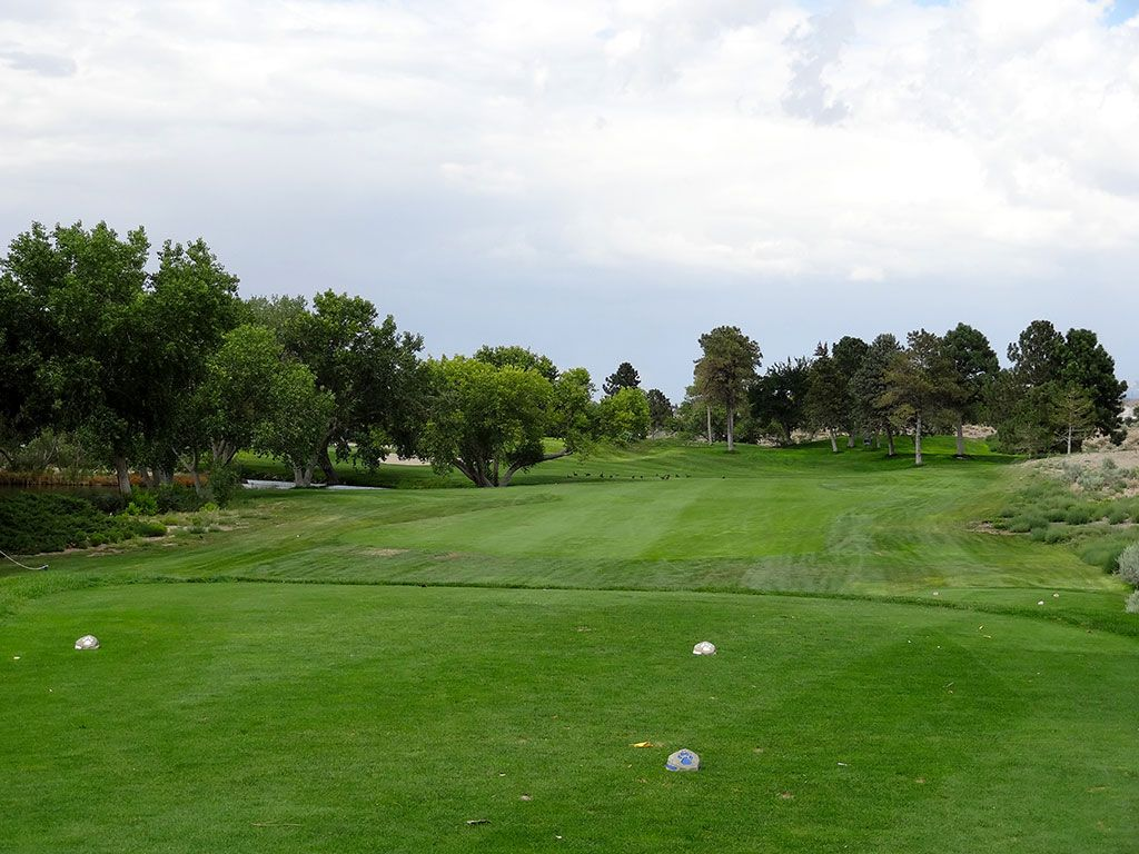 15th Hole at University of New Mexico Championship Course (364 Yard Par 4)
