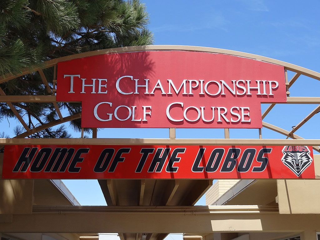 The University of New Mexico Championship Course