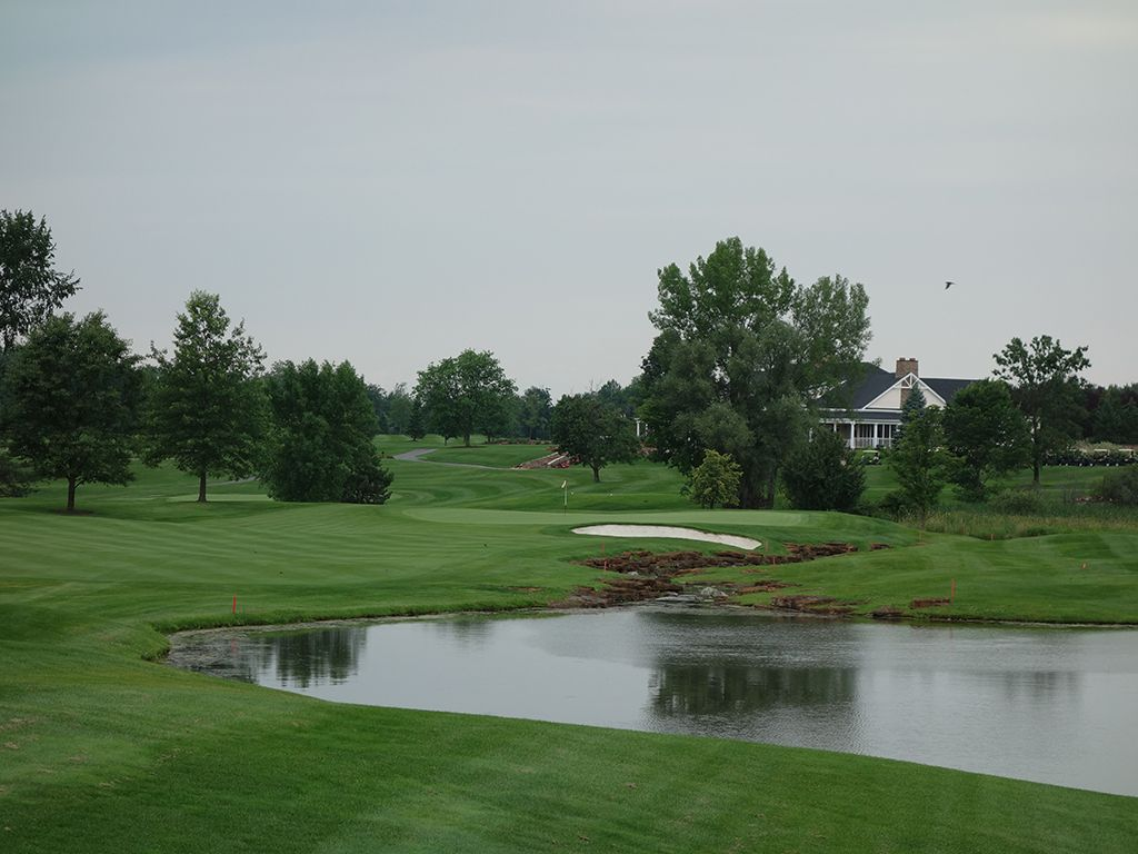 11th Hole at Atunyote Golf Club at Turning Stone (230 Yard Par 3)