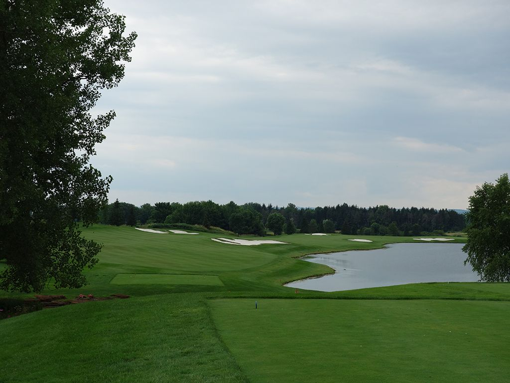 12th Hole at Atunyote Golf Club at Turning Stone (538 Yard Par 5)