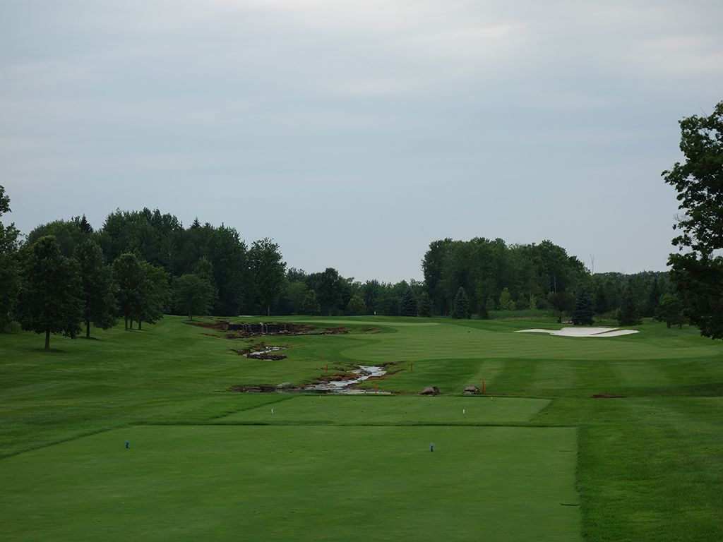 14th Hole at Atunyote Golf Club at Turning Stone (385 Yard Par 4)