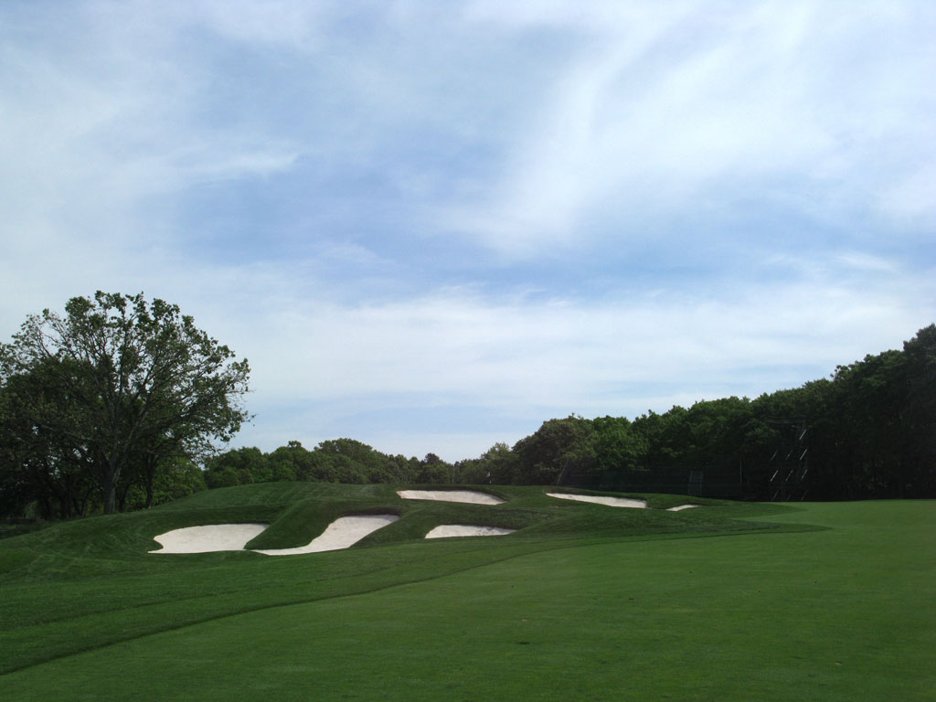4th Hole at Bethpage State Park (Black Course) (517 Yard Par 5)
